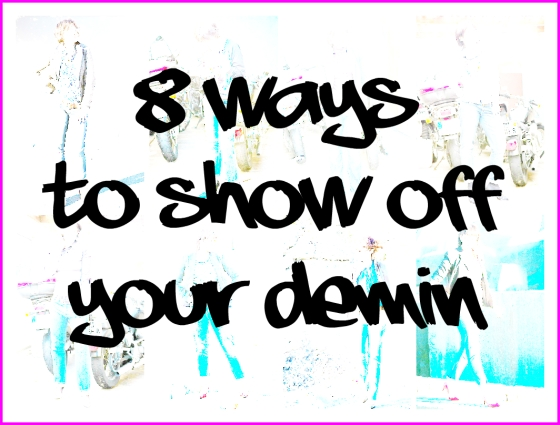 OUTFIT: 8 ways to deminstyle